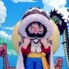 Luffy ของแท้ JP แมวทอง - WCF Banpresto [โมเดลวันพีช] (Super Rare)