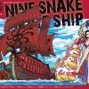 Nine Snake Kuja Ship ของแท้ JP แมวทอง - Bandai Grand Ship Collection [โมเดลเรือวันพีช]