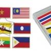SKAEC-37 ภาพติดแม่เหล็กชุดธงชาติอาเซียน