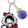 Luffy Key ของแท้ JP แมวทอง (พวงกุญแจวันพีช)