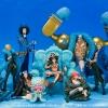 Straw Hat Pirates 20TH Set ของแท้ JP แมวทอง - Bandai FZ [โมเดลวันพีช] (9 ตัว)