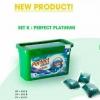 """""""Perfect Platinum"""" น้ำยาซักผ้า ชนิดแคปซูลเจล (แคปซูลซักผ้า)"""