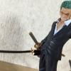 Zoro Ver. Dressrosa ของแท้ JP แมวทอง - Ichiban Kuji Banpresto [โมเดลวันพีช] (Rare)