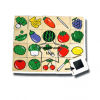 TY-5013 ภาพติดแม่เหล็กผัก-ผลไม้ 30 ชิ้น