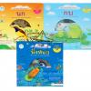 PBP-136 หนังสือชุดธรรมชาติหรรษา มัลติมีเดีย (ไทย-อังกฤษ) 1 ชุดมี 3 เรื่อง