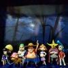 Fake Straw Hat Pirates Set ของแท้ JP แมวทอง - WCF Banpresto [โมเดลวันพีช] (8 ตัว)