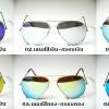 แว่นตากันแดดแฟชั่น ทรงนักบิน (Aviator) เลนส์คุณภาพโพลาไรซ์ + UV400 Protection