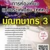 สรุปแนวข้อสอบ มัณฑนากร3 การท่องเที่ยวแห่งประเทศไทย(ททท.) พร้อมเฉลย