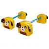 EVE-19 ชุดกระโดดข้ามสิ่งกีดขวางสุนัข 1 ชุด มี 2 คู่
