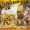 Thousand Sunny Ver. Film Gold ของแท้ JP แมวทอง - Bandai Grand Ship Collection [โมเดลเรือวันพีช]