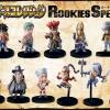 Rookies Special Box Set ของแท้ JP แมวทอง - SD Bandai [โมเดลวันพีช] (11 ตัว)