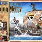 Going Merry ของแท้ JP แมวทอง - Bandai Grand Ship Collection [โมเดลเรือวันพีช]