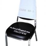 ผ้าคลุมพนักเก้าอี้-สีขาว