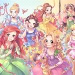 Disney Princess Special Art ของแท้ JP - Jigsaw Disney [จิ๊กซอว์ Disney] (Super Rare)