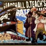 Blackbeard Ship ของแท้ JP แมวทอง - Bandai Grand Ship Collection [โมเดลเรือวันพีช]