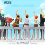Alabasta Set ของแท้ JP แมวทอง - Dramatic Showcase Banpresto [โมเดลวันพีช] (Super Rare) 6 ตัว