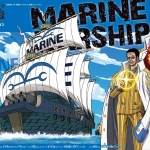 Marine Ship ของแท้ JP แมวทอง - Bandai Grand Ship Collection [โมเดลเรือวันพีช]