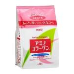 Meiji Amino Collagen แบบรีฟิว ทานได้ 30 วัน อาหารเสริมคอลลาเจนจากญี่ปุ่น อุดมไปด้วยคุณค่าคอลลาเจนสกัดจาก ปลา 100% ช่วยกระชับผิวให้เต่งตึง อยู่เสมอ ผิวหน้านุ่มลื่น เนียนใส ลดริ้วรอย และป้องกันการเกิดริ้วรอยใหม่ค่ะ