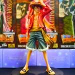 Luffy ของแท้ JP แมวทอง - Grandline Men Banpresto DX [โมเดลวันพีช]