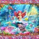 Little Mermaid - Ariel Special Art ของแท้ JP - Jigsaw Disney [จิ๊กซอว์ Disney] (Super Rare)