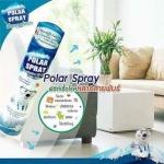Polar Spray สเปรย์ยูคาลิปตัสที่มี Activ Polar โดยใช้เทคโนโลยีซิลเวอร์นาโนลิขสิทธิ์เฉพาะจาก Nova Health