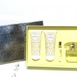 ชุดของขวัญปีใหม่ น้ำชุดเซท 4 ชิ้น อลังวังค์เว่อร์ เวอร์ซาเช่ Versace Yellow Diamond Women Perfume Gift Set: EDT, Shower Gel, Lotion & Roll-On