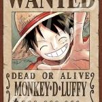 Luffy Wanted - Jigsaw One Piece ของแท้ JP (จิ๊กซอว์วันพีช)