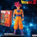 Goku Super Saiyan God ของแท้ JP - The Figure Collection Branpresto [โมเดลดราก้อนบอล] (Rare)