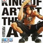 Ace ของแท้ JP แมวทอง - King of Artist Banpresto [โมเดลวันพีช] (Rare)