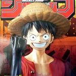 Luffy ของแท้ JP แมวทอง - Jump 50th Anniversary Banpresto [โมเดลวันพีช]