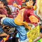 Luffy ของแท้ JP แมวทอง - World Figure Colosseum Banpresto [โมเดลวันพีช]