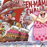 Big Mom's Pirate Ship ของแท้ JP แมวทอง - Bandai Grand Ship Collection [โมเดลเรือวันพีช]