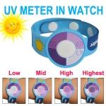 นาฬิกาข้อมือวัดระดับความเข้มของรังสี UV - UV Tester Watch