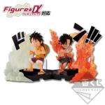 Luffy & Ace Ver. Battle Together on Marineford ของแท้ JP แมวทอง - Ichiban Kuji Banpresto [โมเดลวันพีช]