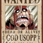 Usopp Wanted - Jigsaw One Piece ของแท้ JP แมวทอง (จิ๊กซอว์วันพีช)