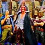 Red Hair Pirates Set ของแท้ JP แมวทอง - Grandline Men Banpresto [โมเดลวันพีช] (3 ตัว)