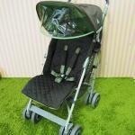 รถเข็นเด็กมือสอง Maclaren รุ่น Techno สีน้ำตาล เขียว
