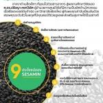 """ประโยชน์ของ """"เซซามิน"""" (""""Sesamin"""") """"สารสกัดจากงาดำ"""" ธัญพืชมหัศจรรย์ของขวัญจากธรรมชาติ"""