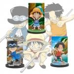 Brother Children Set ของแท้ JP แมวทอง - WCF Ichiban Kuji Banpresto [โมเดลวันพีช] (3 ตัว)