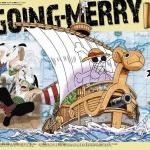 Going Merry Ver. Memorial Color ของแท้ JP แมวทอง - Bandai Grand Ship Collection [โมเดลเรือวันพีช]