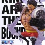 Luffy Gear 4 ของแท้ JP แมวทอง - King of Artist Banpresto [โมเดลวันพีช]
