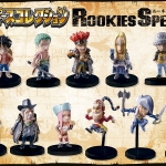 Rookies Special Color Set ของแท้ JP แมวทอง - SD Bandai [โมเดลวันพีช] (11 ตัว)