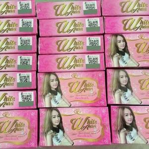 สบู่ไวท์ออร่า White aura miracle carrot soap ราคาส่ง ของแท้ 096-7914965