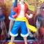 Luffy ของแท้ JP แมวทอง - Jump 50th Anniversary Banpresto [โมเดลวันพีช] thumbnail 7