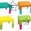 PPT-004 โต๊ะสี่เหลี่ยมใหญ่ (ขายาว) (ราคาเฉพาะโต๊ะ/ตัว)