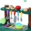 ครัวสีพาสเทล Pastel kitchen set น้ำไหลได้จริง ส่งฟรีพัสดุไปรษณีย์ thumbnail 6