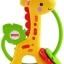 เขย่ามือ ยางกัด Giraffe clacker fisher price ส่งฟรี thumbnail 1