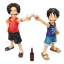 Luffy & Ace ของแท้ JPแมวทอง - POP CB-EX Megahouse [โมเดลวันพีช] (Rare) 2 ตัว thumbnail 8