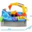 กระบะทราย แมคโคร พร้อมอุปกรณ์ 11 ชิ้น Sandbox game ส่งฟรี thumbnail 5