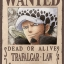 Law Wanted - Jigsaw One Piece ของแท้ JP แมวทอง (จิ๊กซอว์วันพีช) thumbnail 1